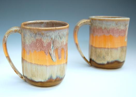 Sunset series mugs.