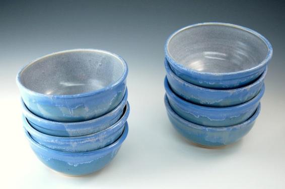 Stacking soup bowls.